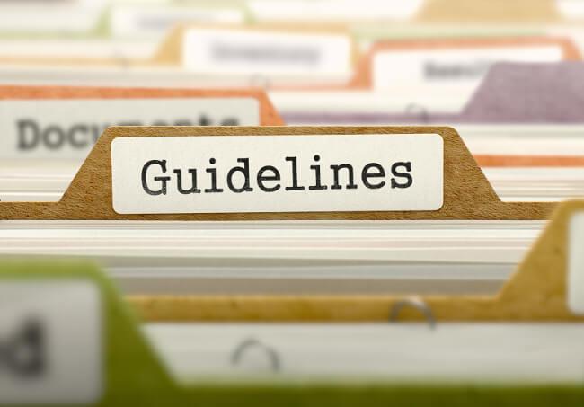 ソーシャルメディアガイドラインに盛り込むべき必須9項目イメージ