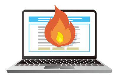 オンライン・レピュテーション・マネジメント図:炎上